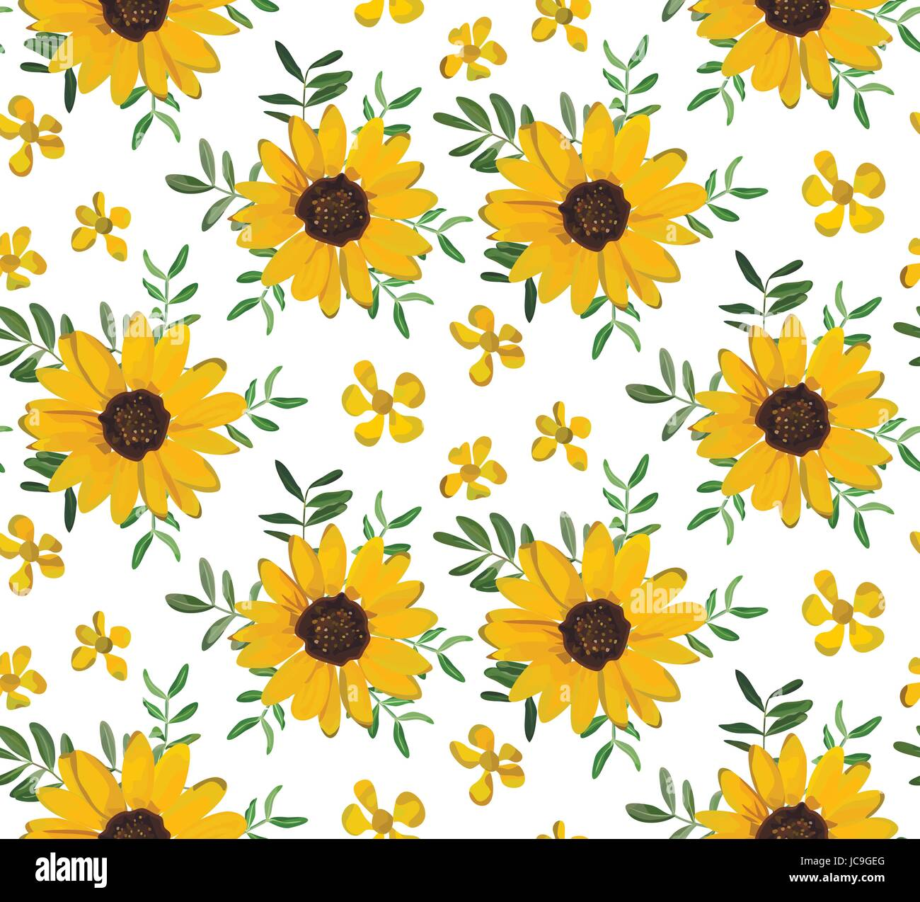 Fall Leve Wallpapers Vintage Yellow Sunflower Tiny Beautiful Soft Flowers