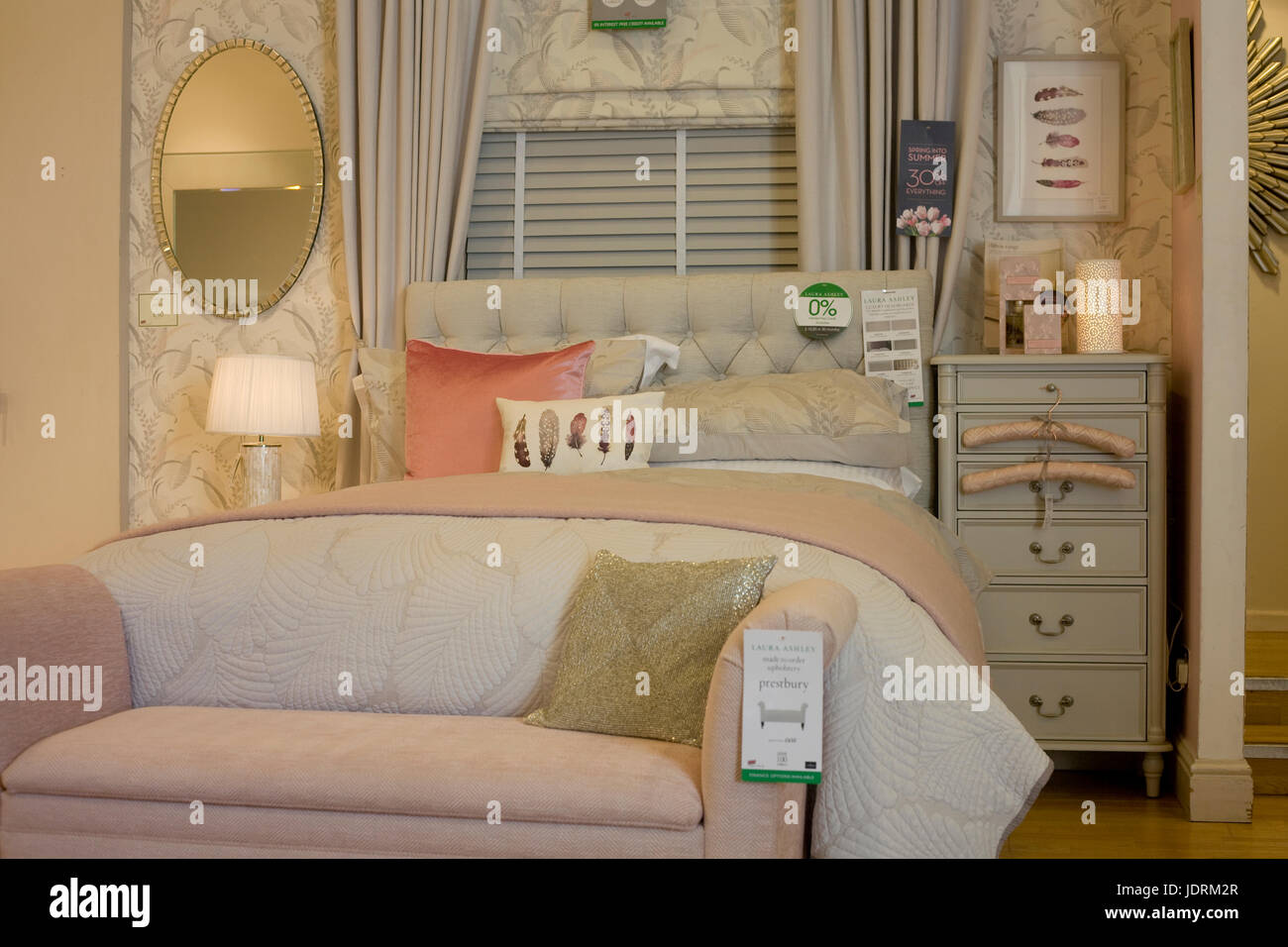 Laura Ashley Muebles Furniture Shop Interior Colour Stock Photos Furniture Shop
