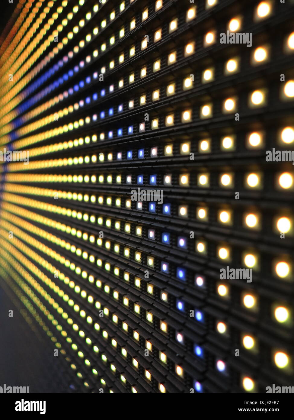 Wand Led Rgb Led Wand Stock Photo 146343659 Alamy