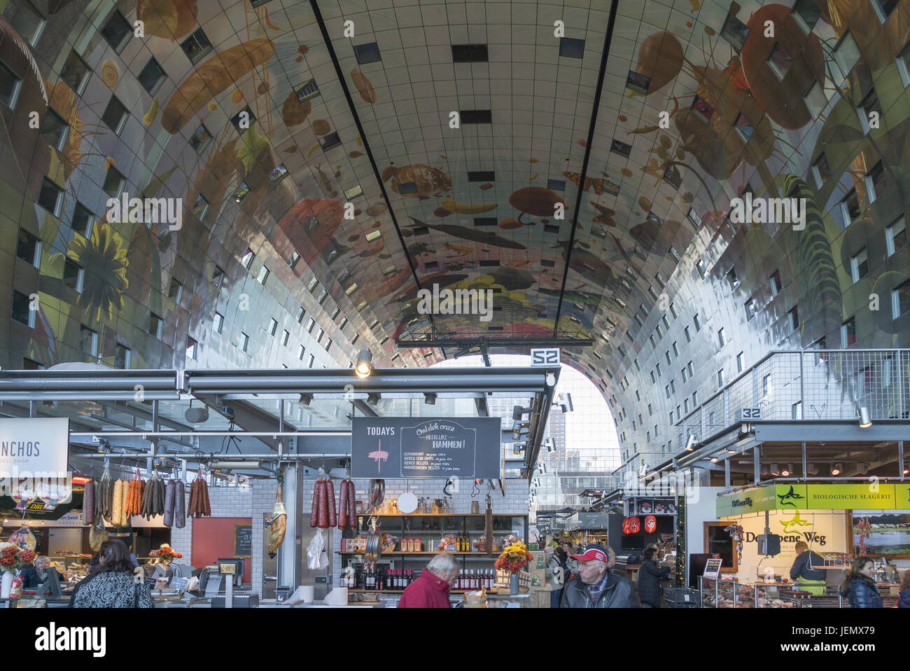 Markthalle Rotterdam Markthalle Stock Photos And Markthalle Stock Images Alamy