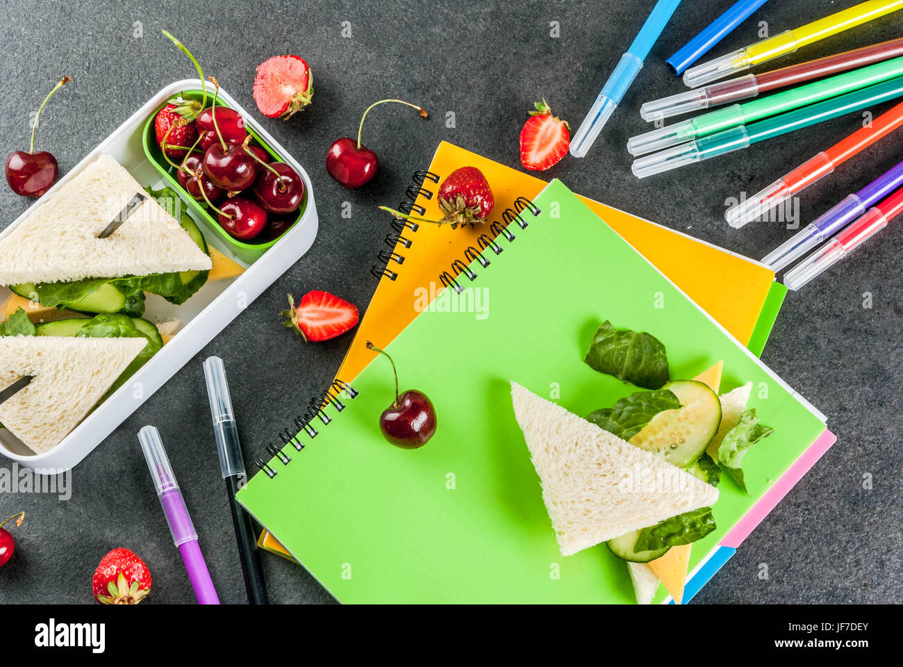 Lunch In A Box Back To School A Hearty Healthy School Lunch In A Box Sandwiches