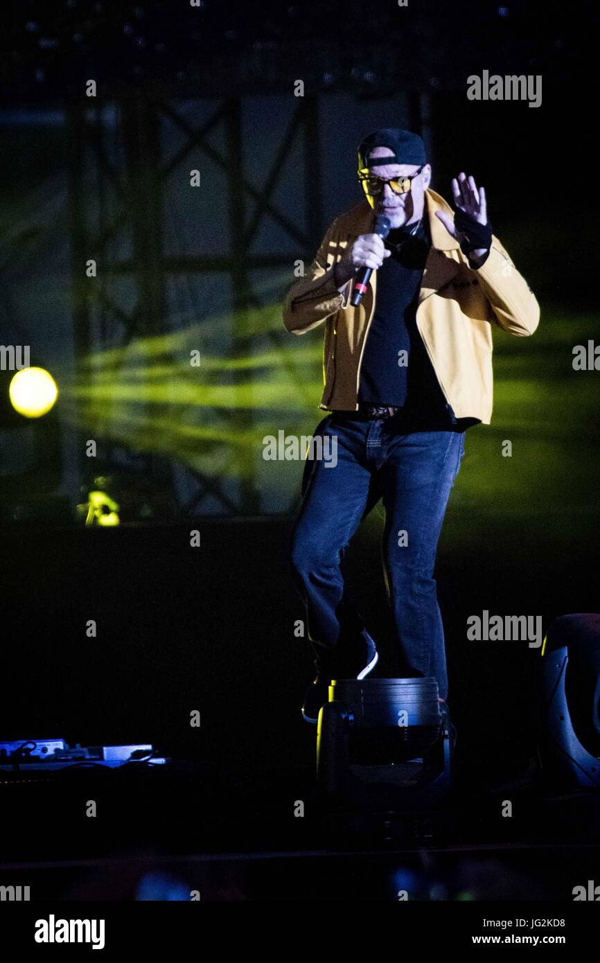 Foto Concerto Vasco Modena Modena Italy 01st July 2017 The Italian Rock Star Vasco Rossi