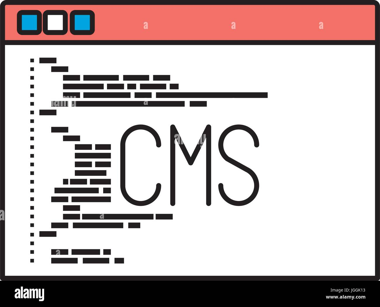 Cms Script Silhouette Color Sections Of Programming Window With Script Code