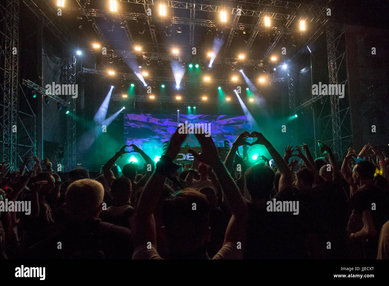 Bad Dj Set Stage Name Stock Photos And Stage Name Stock Images Alamy