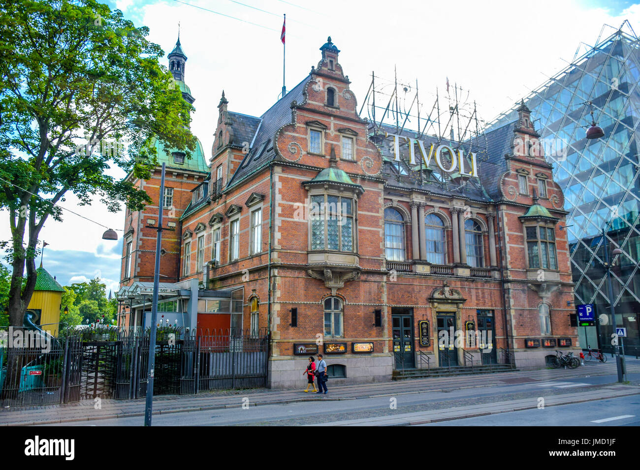 Tivoli Amusement Park Aarhus Tivoli Park Stock Photos And Tivoli Park Stock Images Alamy