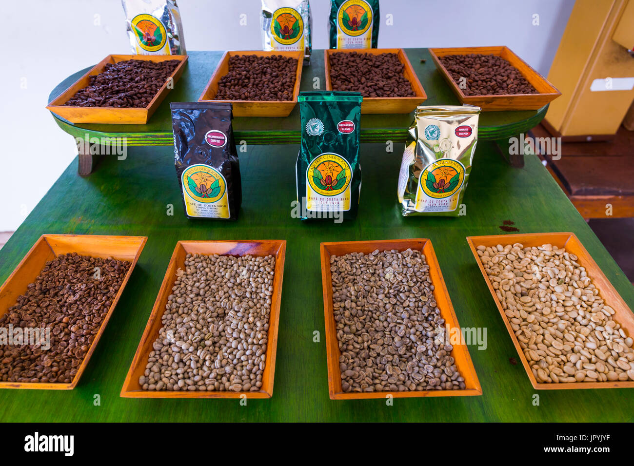 Costa Coffee Arabica Robusta Coffea Arabica Bean Stock Photos And Coffea Arabica Bean