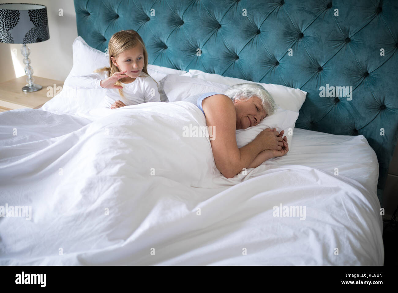 Granny In Bed Stock Photos Granny In Bed Stock Images