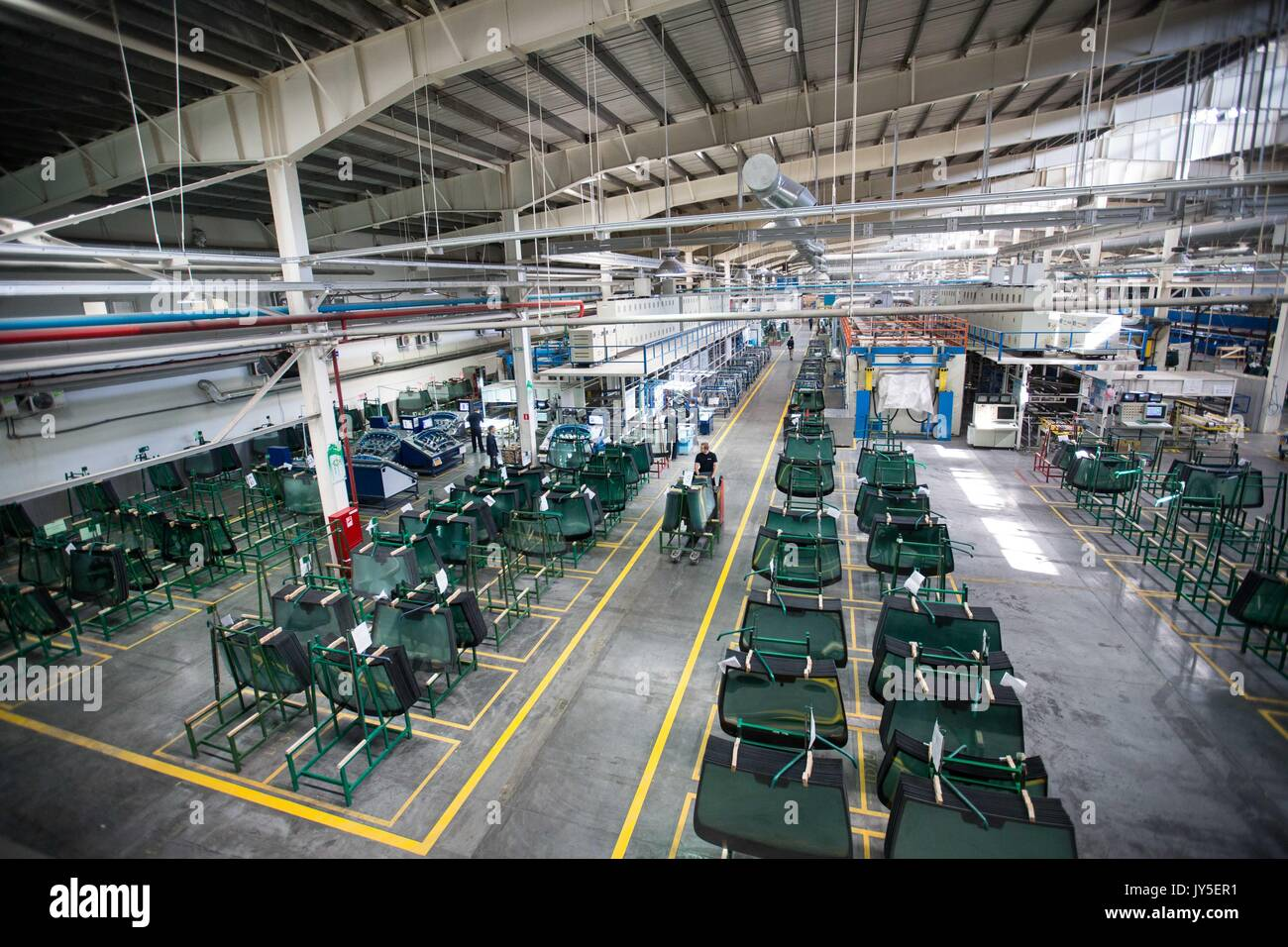 Glass Factory Manufacturer Float Glass Factory Stock Photos Float Glass Factory Stock