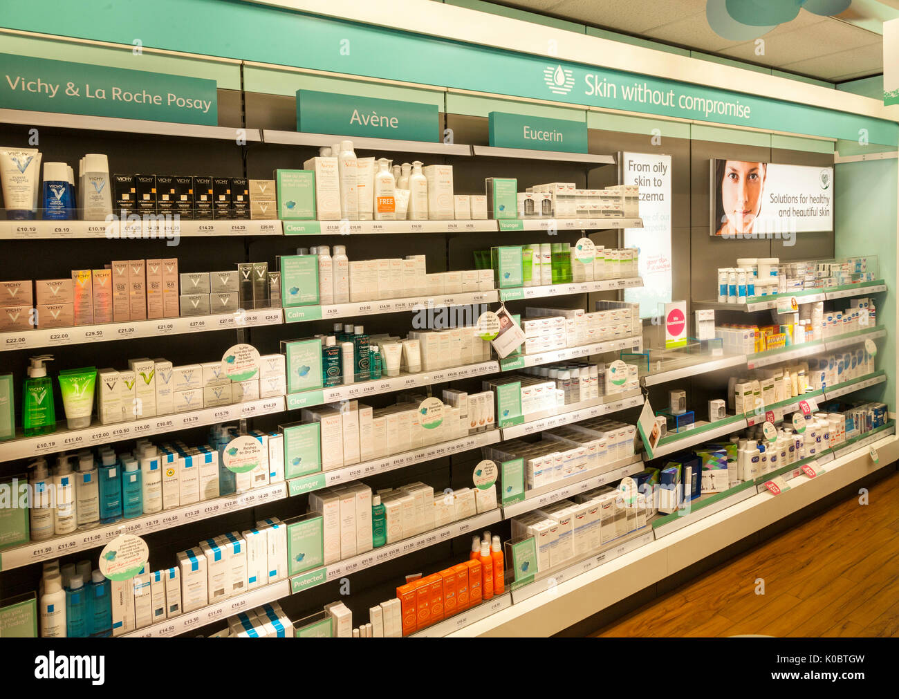 Beauty Shelf Roche Posay Stock Photos And Roche Posay Stock Images Alamy