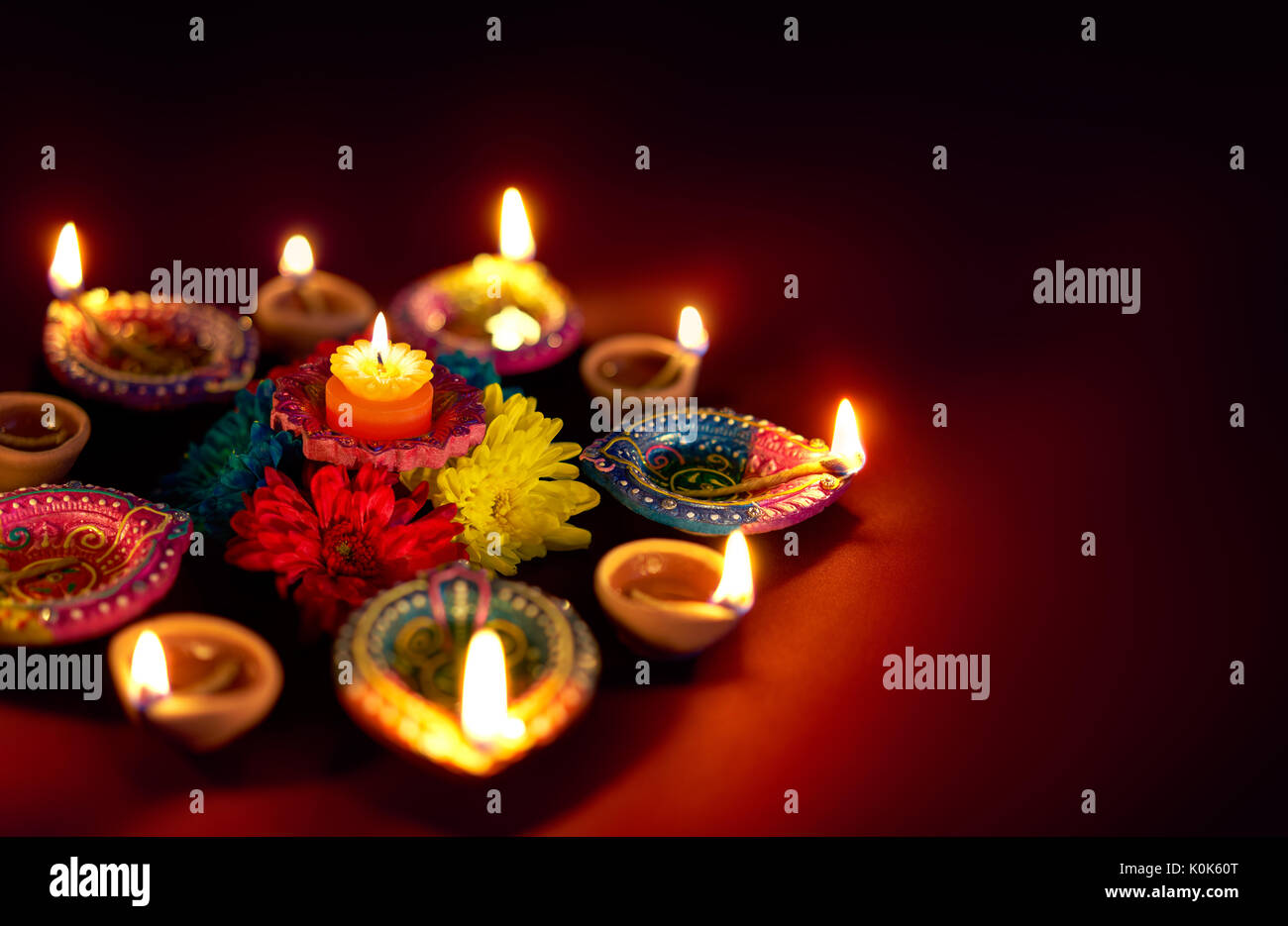 Earthen Lamp Diwali Traditional Indian Oil Lamp Stock Photos And Traditional