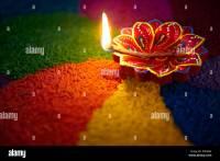 Diwali India Lights Rangoli Stock Photos & Diwali India ...