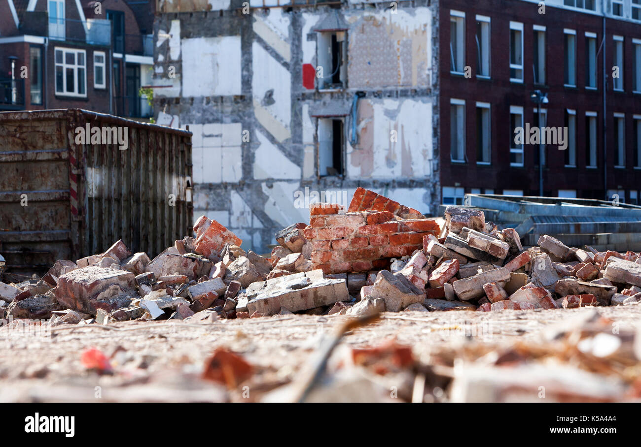 Twisted Metal 4 Construction Yard Soundtrack Demolition Rubble Stock Photos And Demolition Rubble Stock