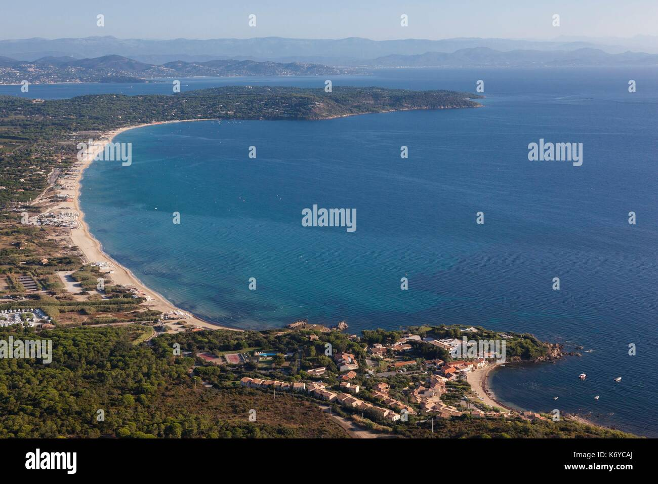 Bonne Terrasse Ramatuelle France Var Saint Tropez Peninsula Ramatuelle Beaches Of Stock