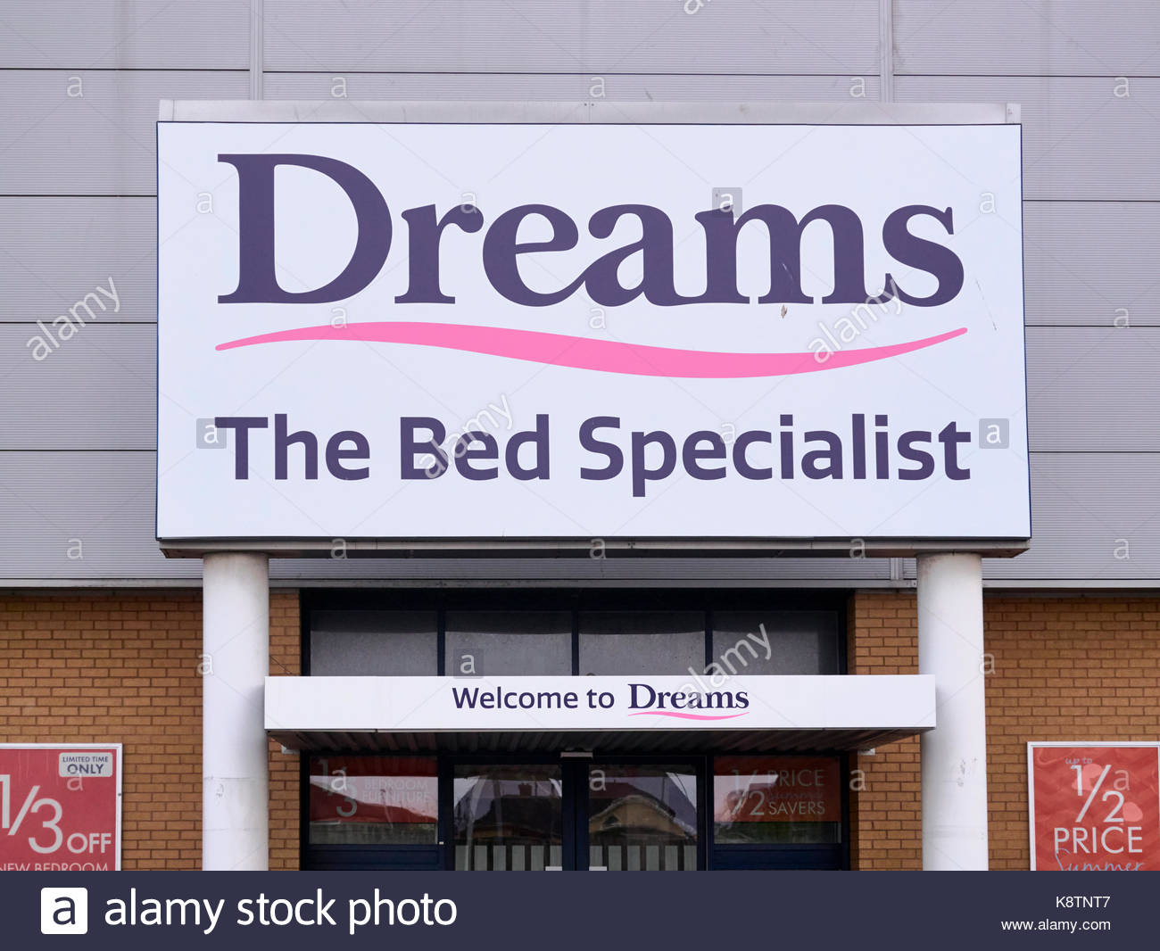 Dreams Beds Northampton Dreams Bed Shop Stock Photos Dreams Bed Shop Stock Images Alamy