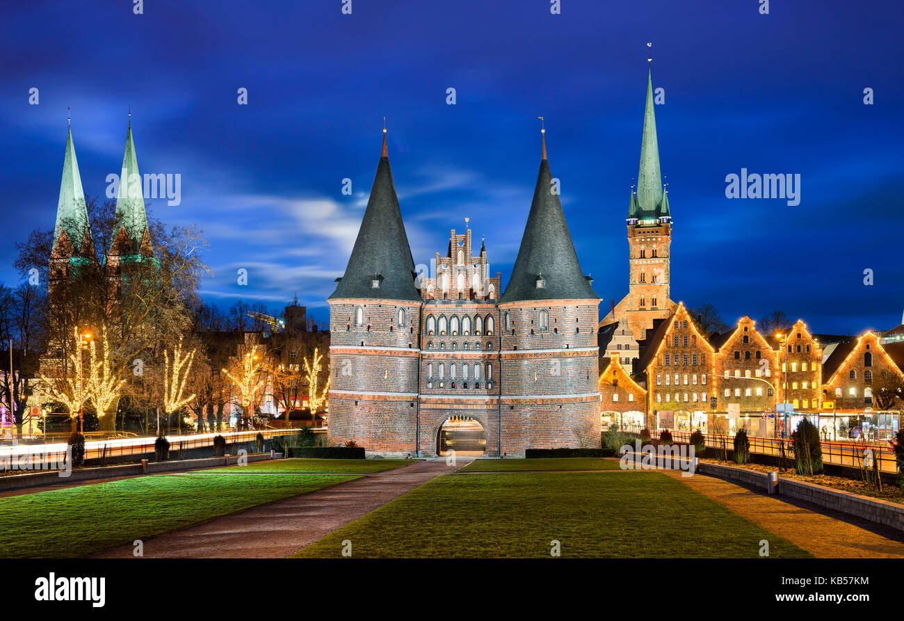 Ecco Lübeck Lubeck Germany Stock Photos Lubeck Germany Stock Images Alamy
