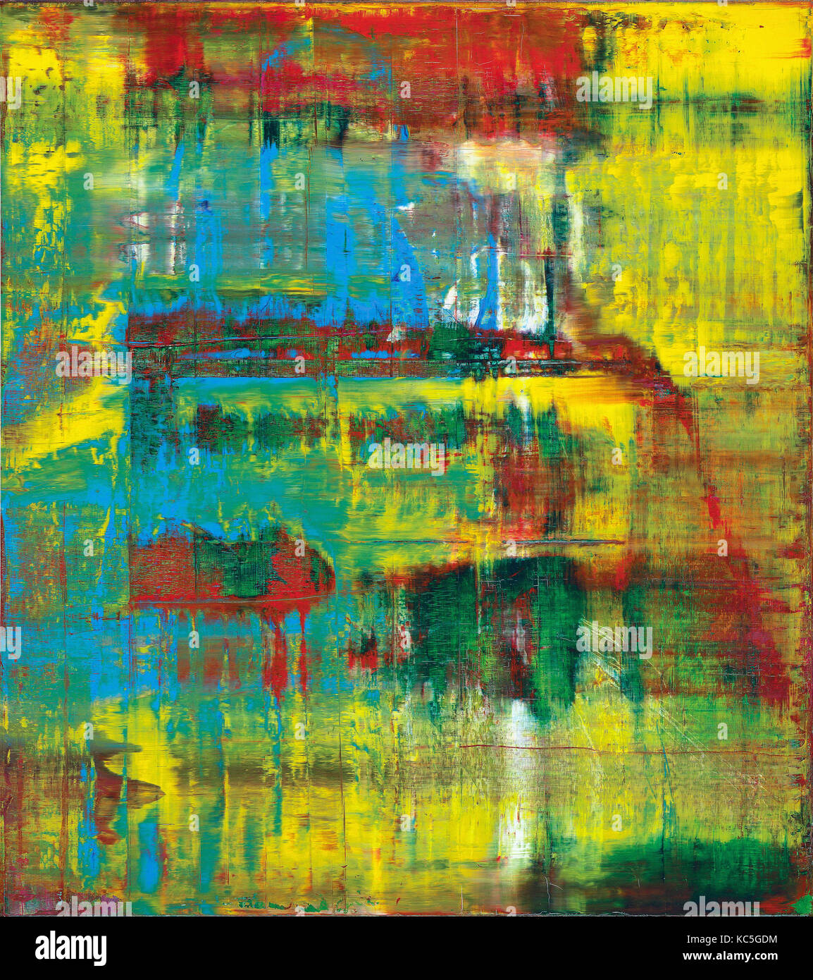 Abstraktes Bild Gerhard Richter High Resolution Stock Photography And Images Alamy