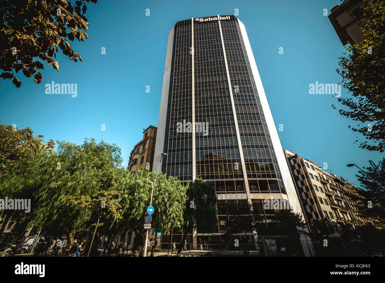 Sabaedell Barcelona Spain 5th Oct 2017 The Banco Sabadell The Stock