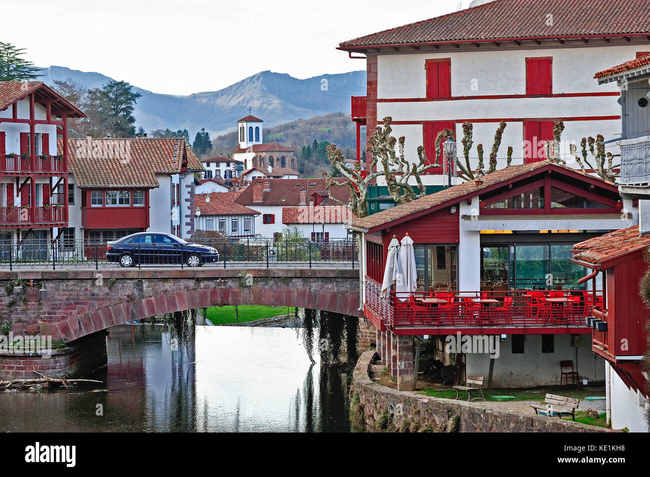 St Jean De Pied De Port Saint Jean Pied De Port Stock Photos Saint Jean Pied De Port