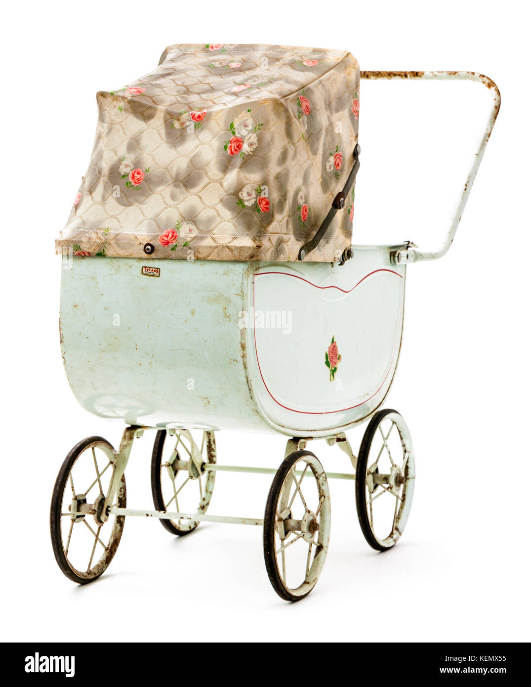 Vintage Toy Stroller Pram 1950s Stock Photos Pram 1950s Stock Images Alamy
