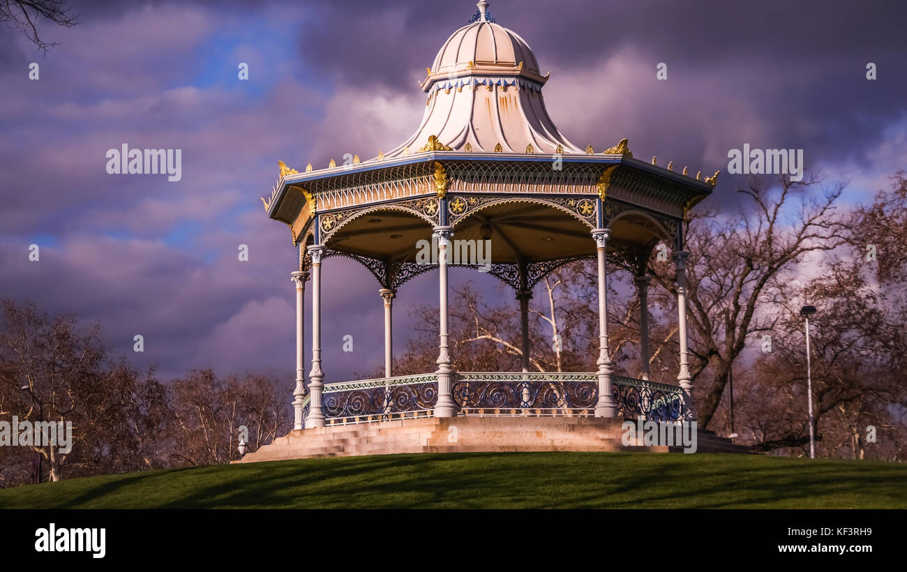 Gazebo Adelaide Victorian Style Gazebo In Winter Landmark Of Adelaide South