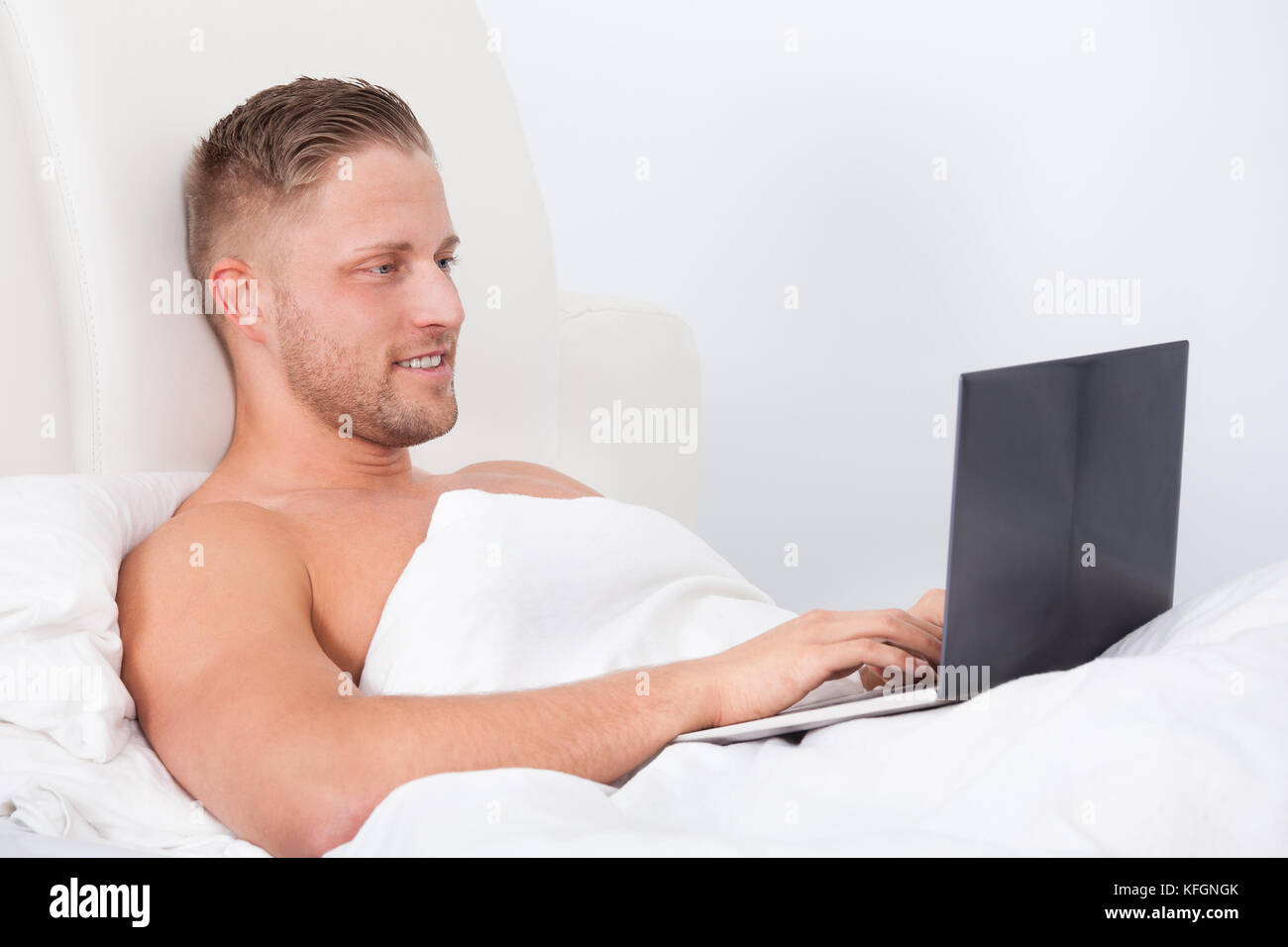 Pillow For Sitting Up In Bed Propped Up Person Stock Photos And Propped Up Person Stock