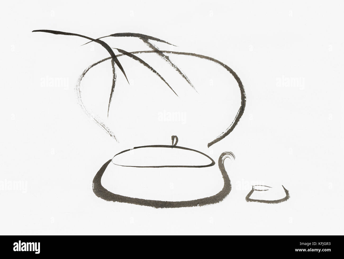 Zen Arte E Aroma Tea Art Stock Photos Tea Art Stock Images Alamy