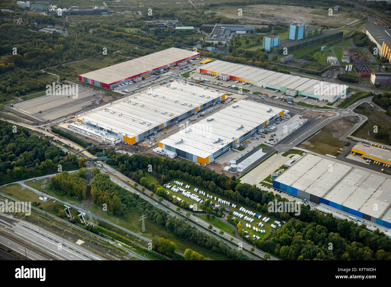 Dortmund Shopping Center Amazon Logistics Center Quotdtm2 Quot In Dortmund Is Located On