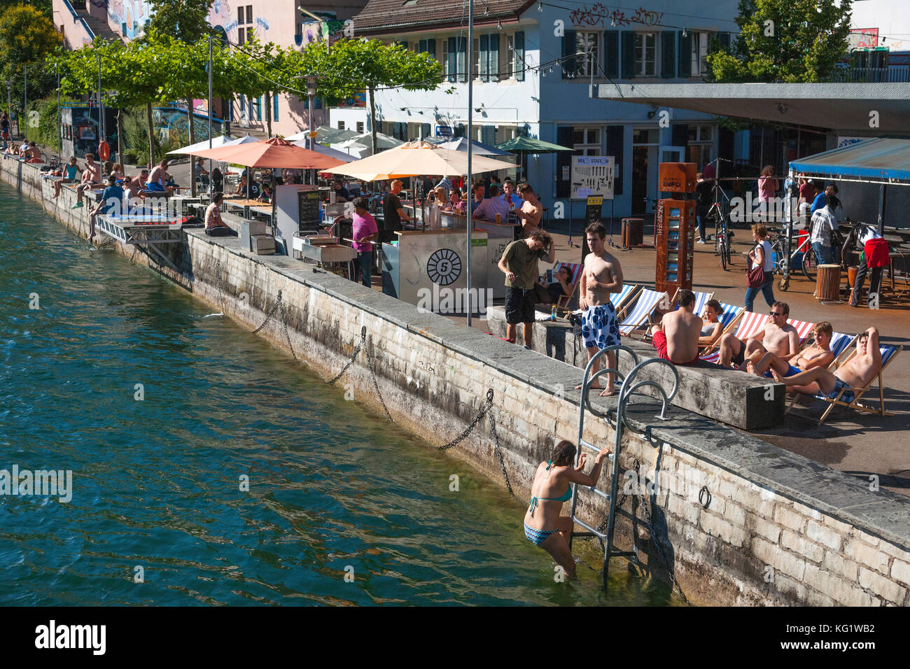 Gartentische Zürich Gartenrestaurant Stock Photos Gartenrestaurant Stock Images Alamy