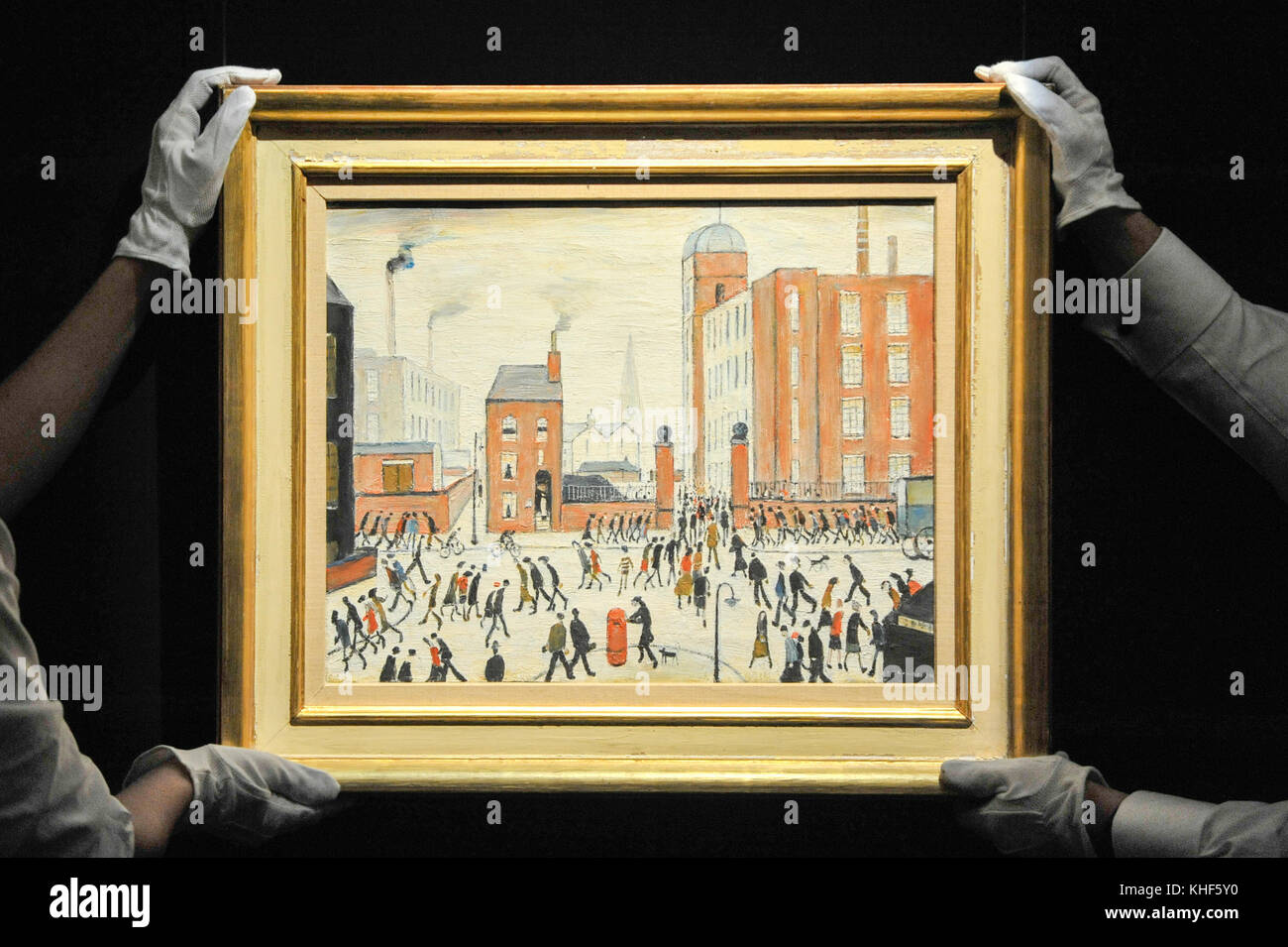 Pittore Inglese Lowry L S Lowry Stock Photos L S Lowry Stock Images Alamy