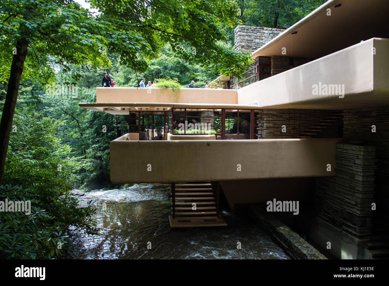 Falling Water House Usa Fallingwater Or The Kaufmann Residence Designed By Frank Lloyd