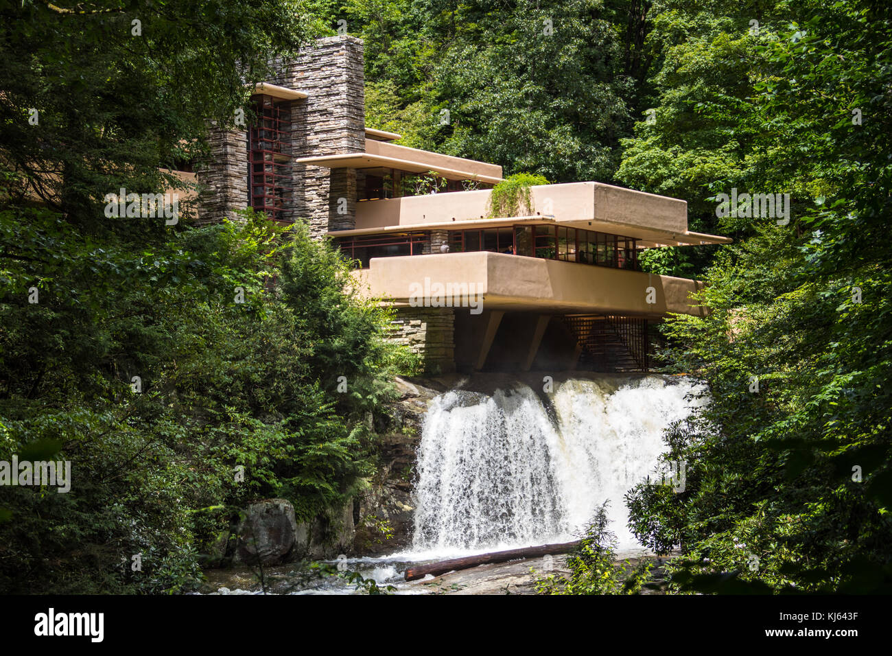 Falling Water House Usa Fallingwater House Stock Photos Fallingwater House Stock Images