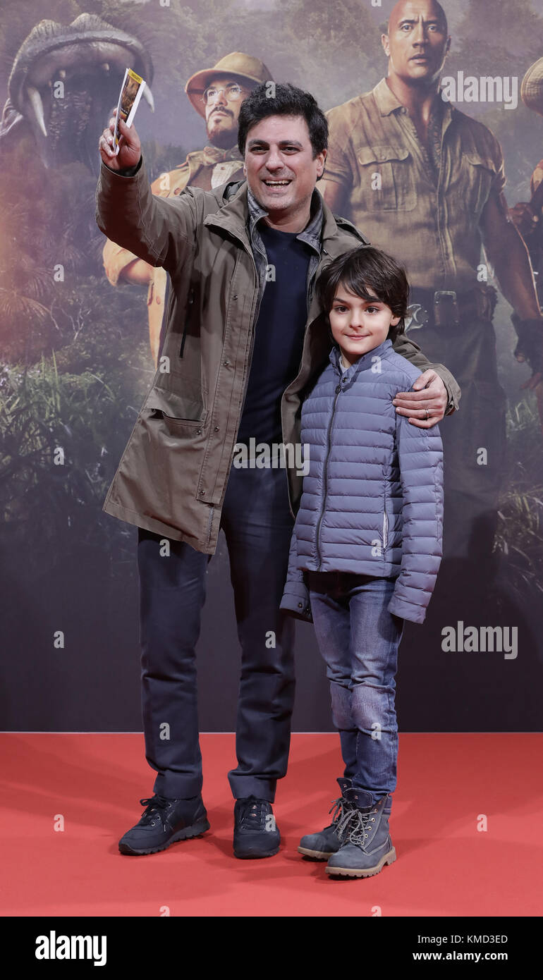 Shan Rahimkhan Berlin Berlin, Germany. 06th Dec, 2017. Shan Rahimkhan And His Son Kian Stock Photo - Alamy