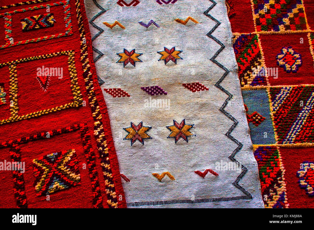 Berber Teppiche Marrakesch Morocco Berber Carpet Stock Photos And Morocco Berber Carpet