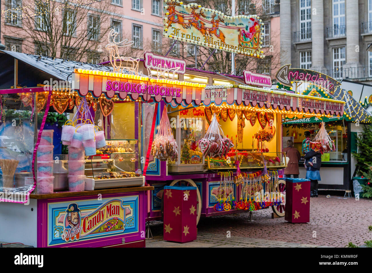 Wuppertal Barmen Christmas Shack Stock Photos And Christmas Shack Stock