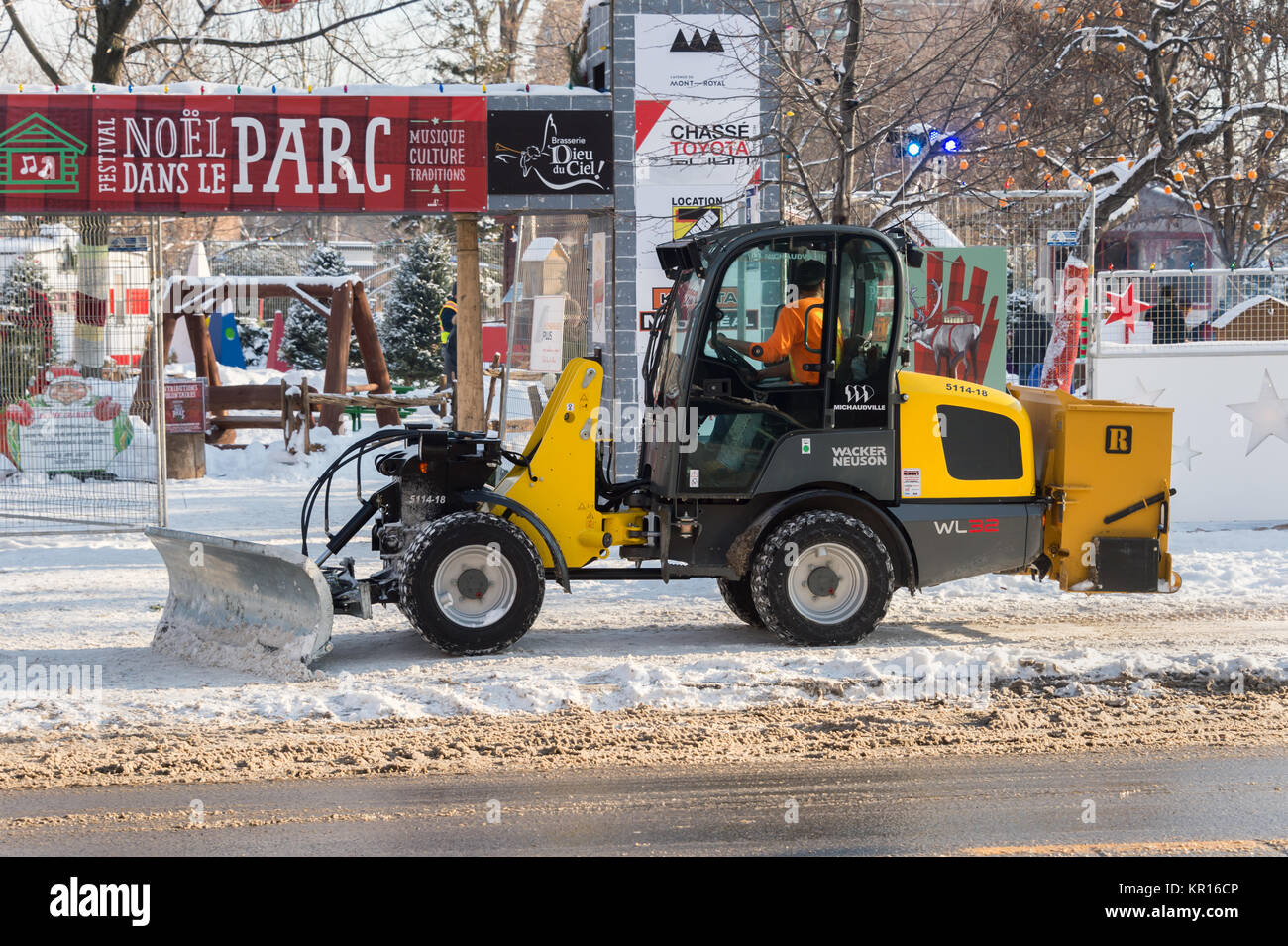 Canadian Snow Plow Snow Plow Canada Stock Photos And Snow Plow Canada Stock