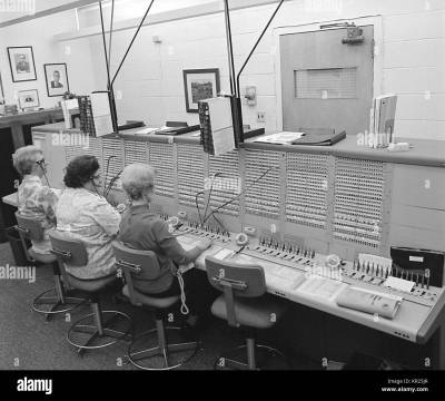 Switchboard Operator Vintage Stock Photos & Switchboard Operator Vintage Stock Images - Alamy