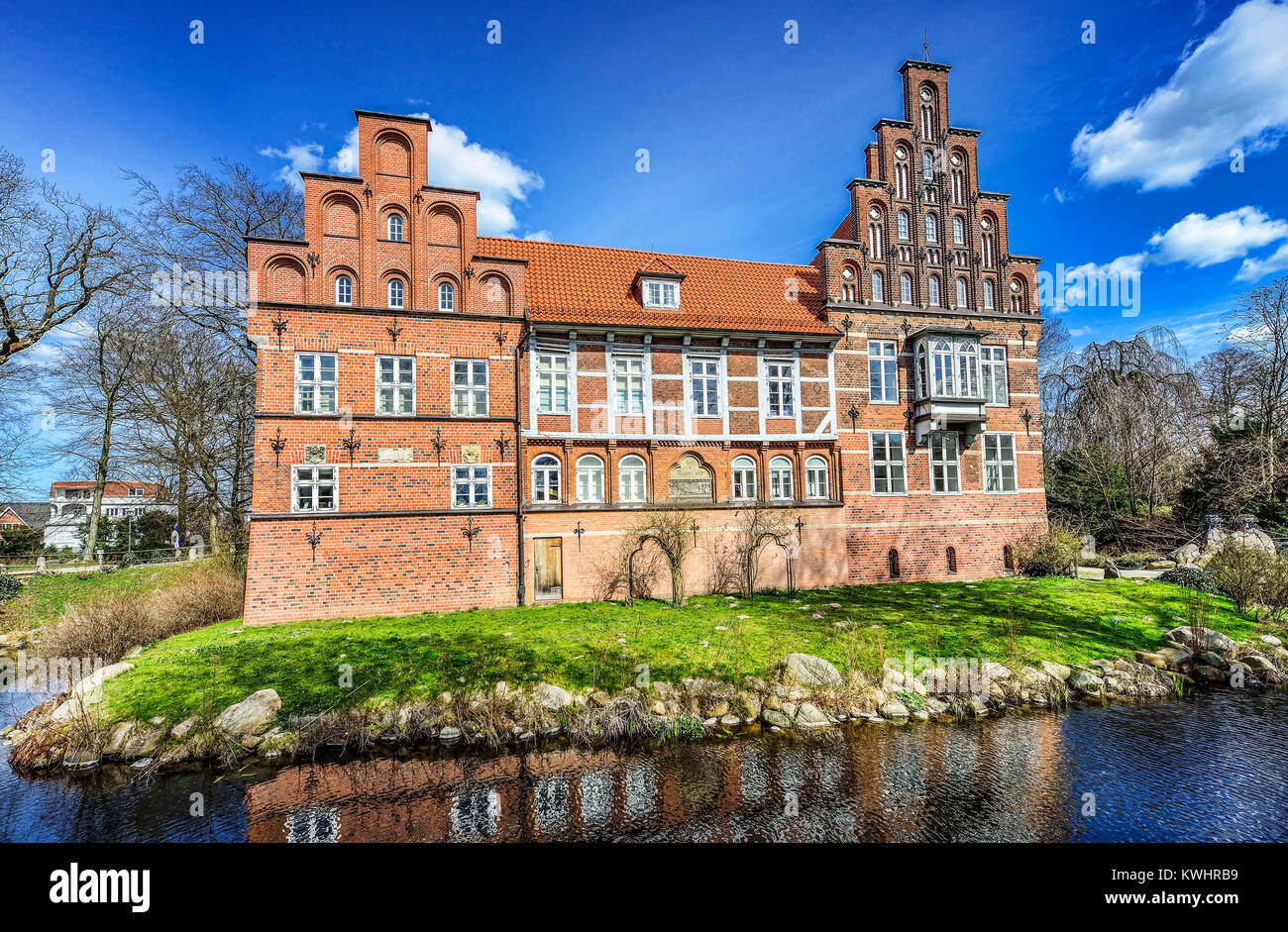 Badewannendoktor Hamburg Bergedorf The Bergedorfer Castle In Hamburg Germany Europe Das