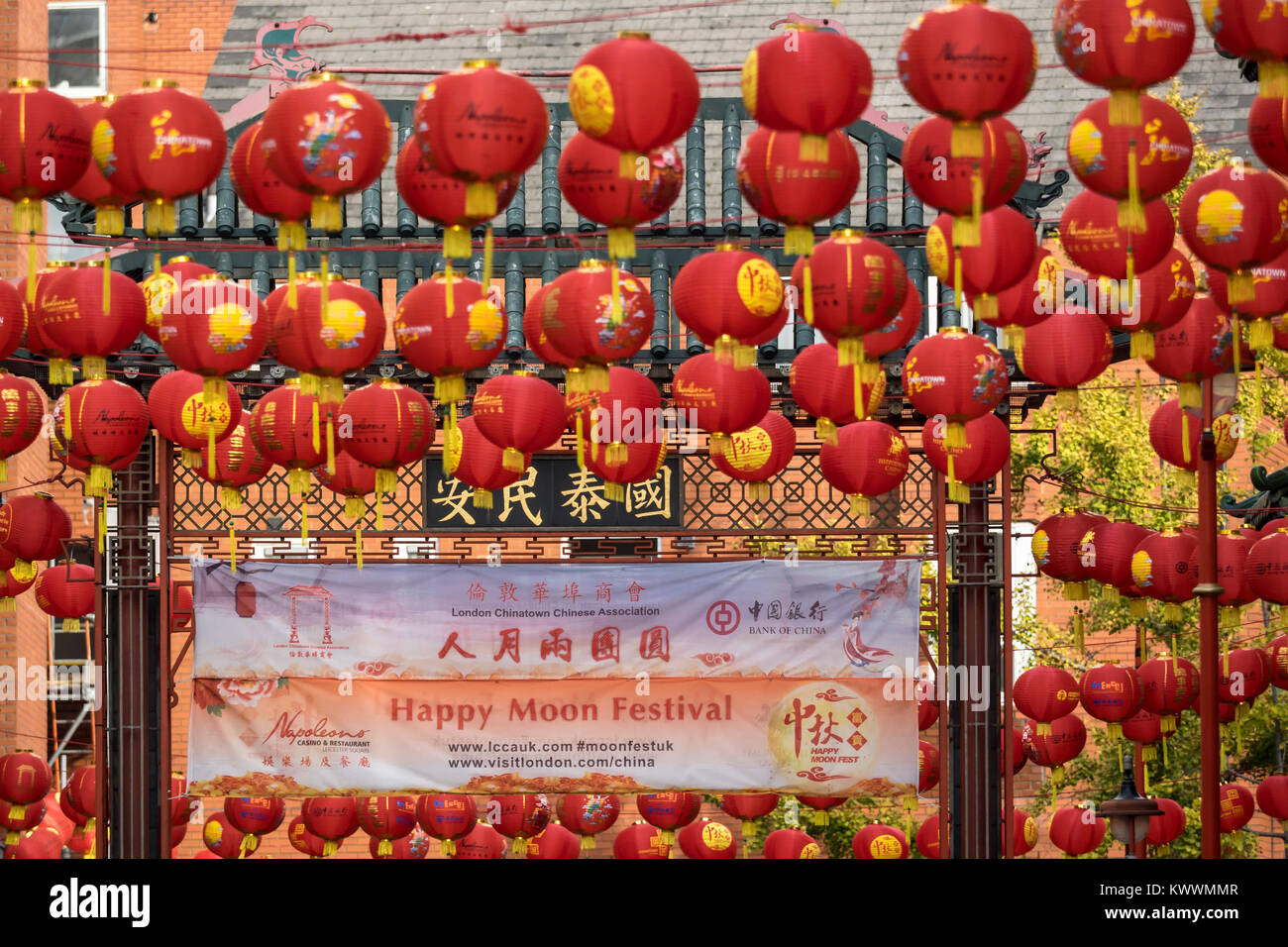 Happy Chinese Lantern Festival Festival Chinatown Stock Photos And Festival Chinatown Stock
