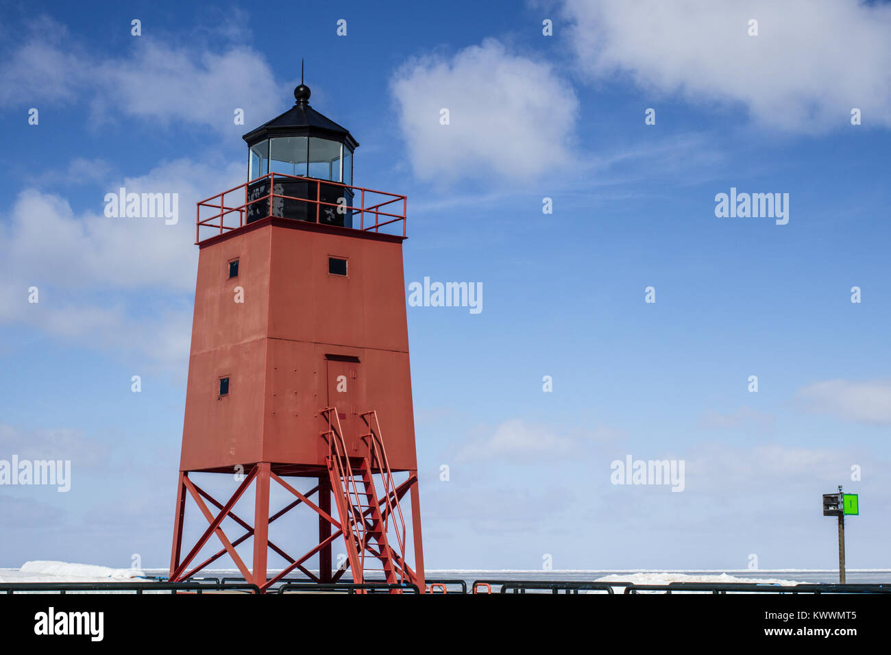 Lighthouse Background Great Lakes Lighthouse Background The Charlevoix Michigan