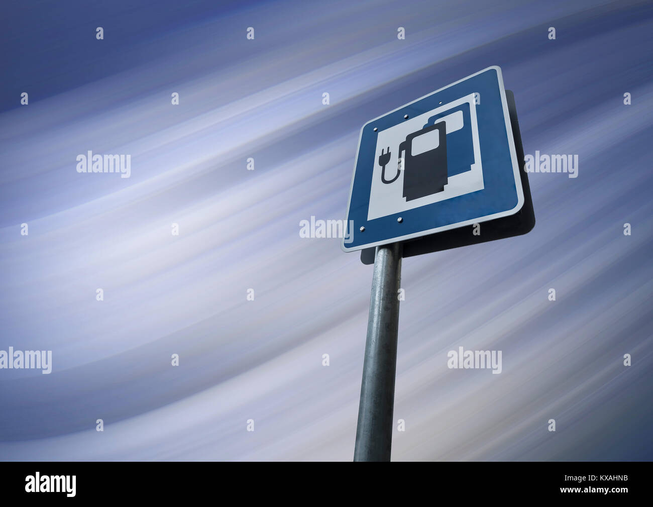 Electric Cars Information Electric Car Charging Stations Stock Photos And Electric Car