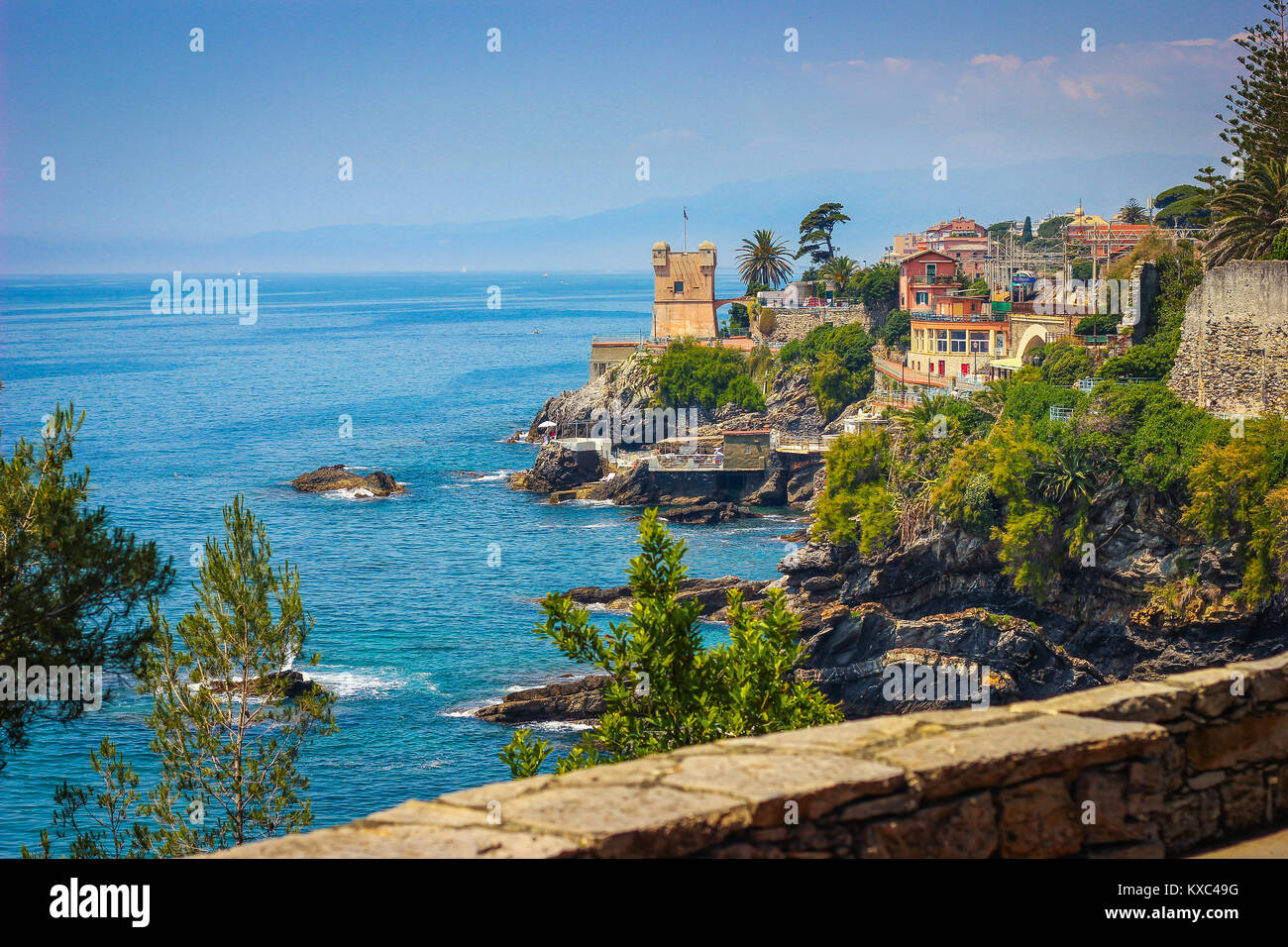 Bagni Scogliera Nervi Europe Italy Liguria Nervi Stock Photos And Europe Italy