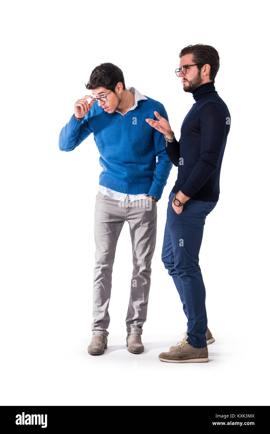 Stylish Clothes Two Good Looking Men In Stylish Clothes Stock Photo 171294394 Alamy