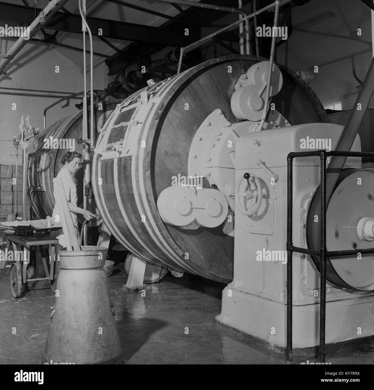 Vorhänge Industrial Mechanical Black And White Stock Photos Images Alamy