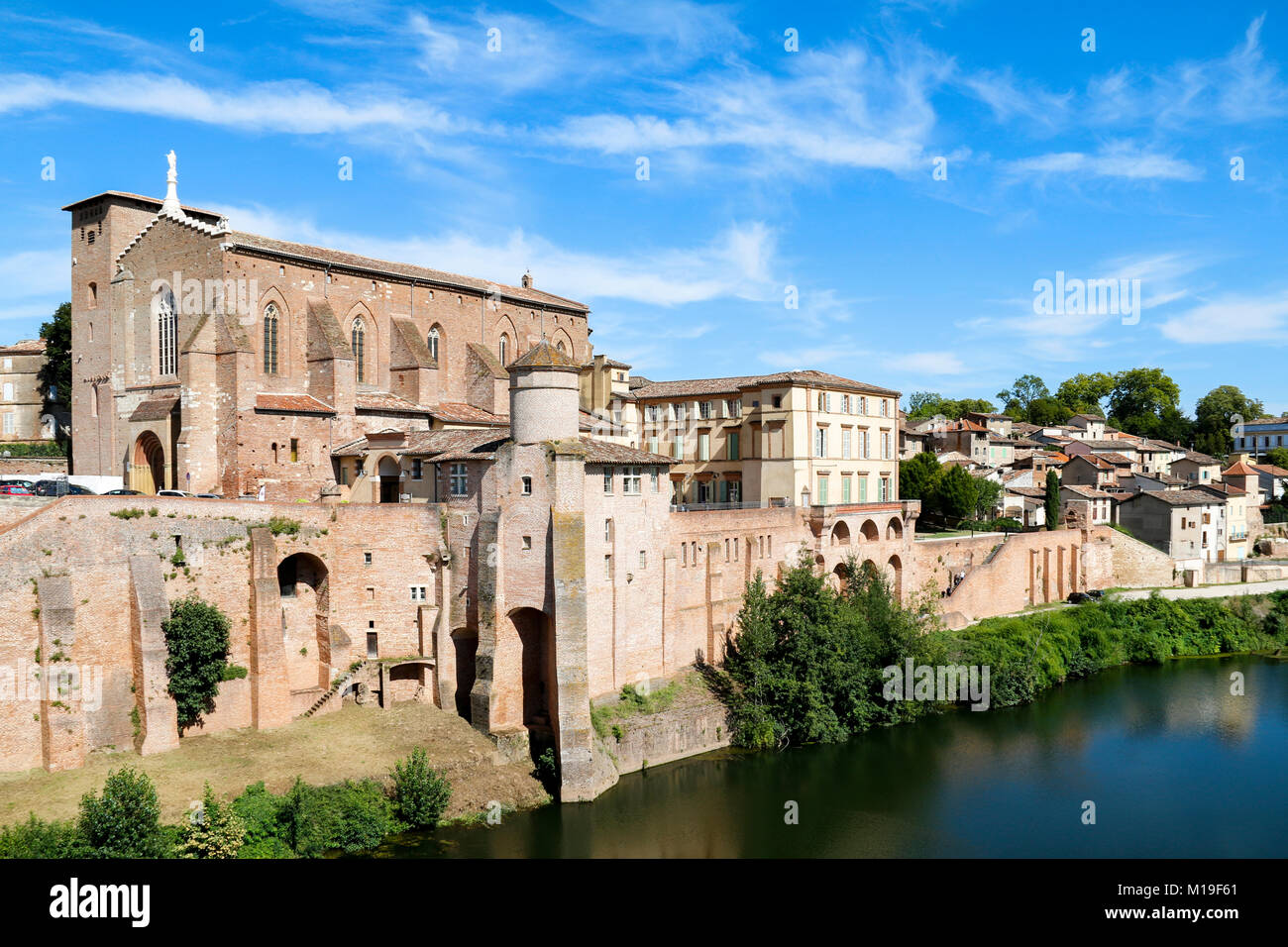 Office De Tourisme Gaillac Abbaye Saint Michel In The Town Of Gaillac Which Sits On The