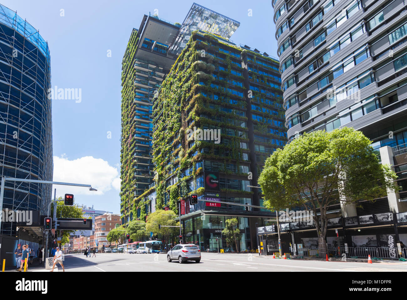 Green Living Green Living Tower One Central Park Chippendale Sydney