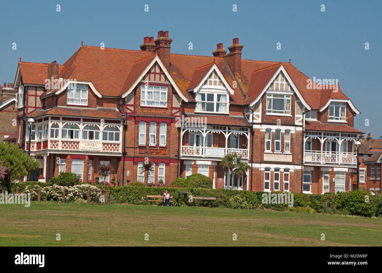 Bed And Breakfast Broadstairs Broadstairs Kent Cintra Bed Breakfast England Stock Photo