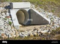 Water Culvert Drain Stock Photos & Water Culvert Drain