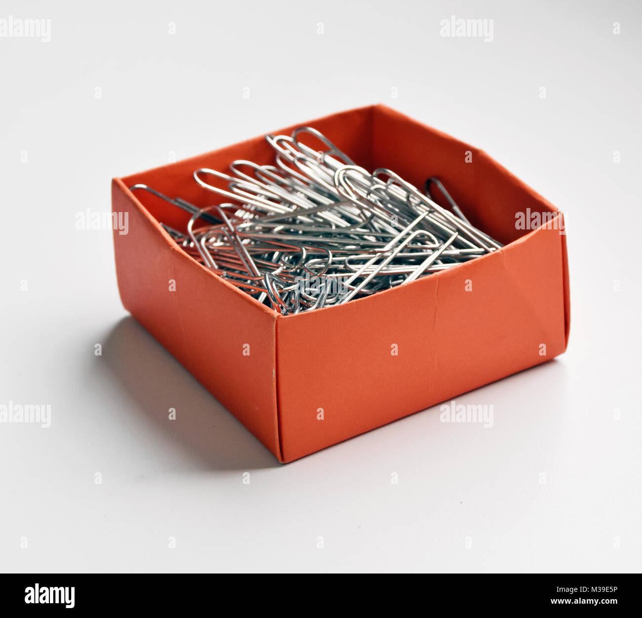 Stationary Boxes Stationery Boxes Filled With Elastic Bands Paper Clips Staples