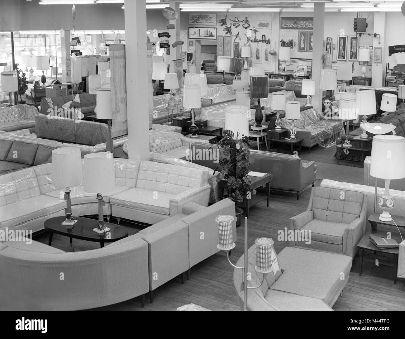 Furniture Showroom High Resolution Stock Photography And Images Alamy