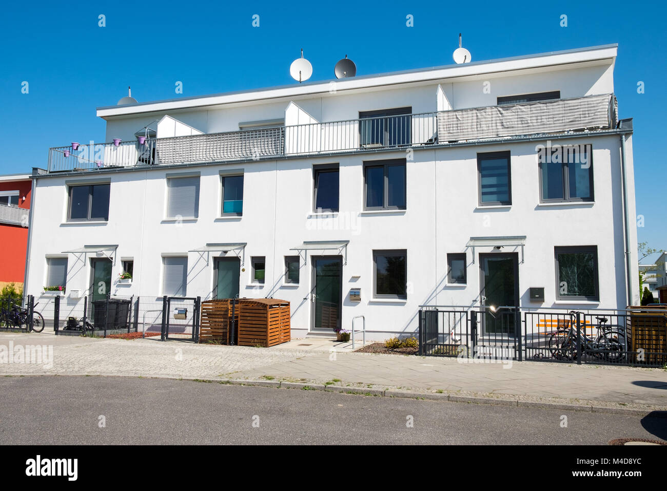 Golden Eye Herborn Twin House Stock Photos Twin House Stock Images Alamy